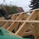 Montáž dřevěného altánu