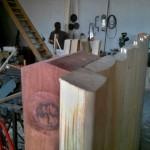 Dřevěná vrátka