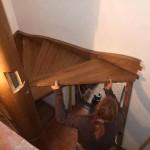 Montáž točitého schodiště