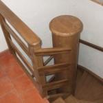 Montáž dřevěného zábradlí