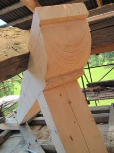 Tvarování trámů