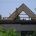 Montáž krovu