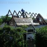 Demontáž dřevěného záklopu