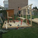 Montáž zahradního domku